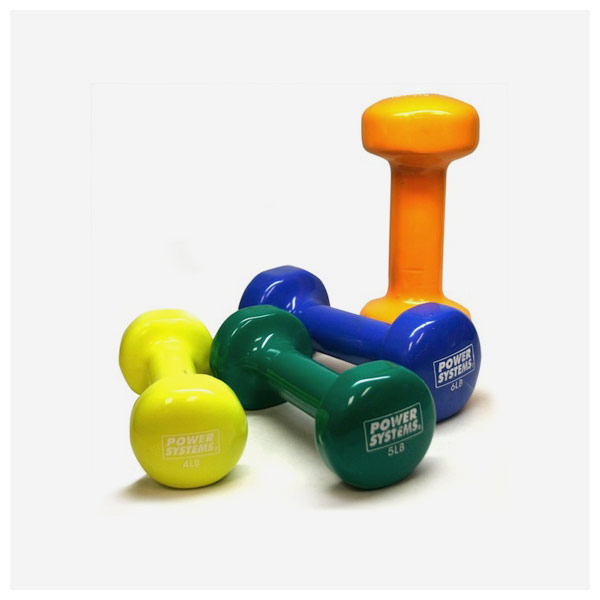 Deluxe Vinyl Coated Dumbbell