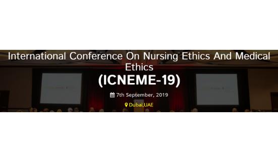 International Conference on Nursing & Medical Ethics (7th Sep, 2019)