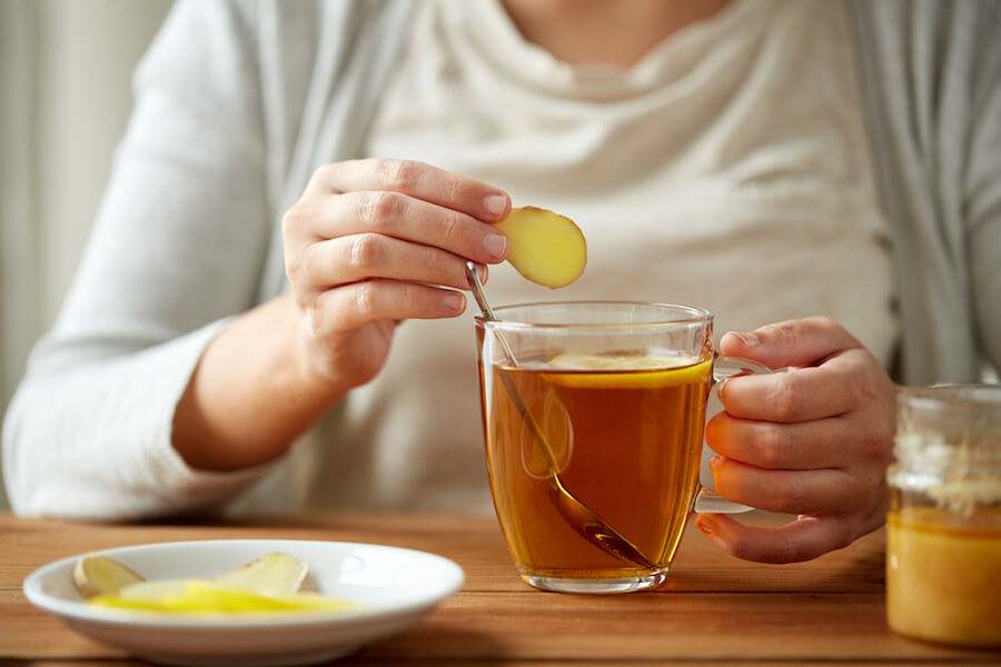 Ginger Drink - Home Remedy for Dry Cough